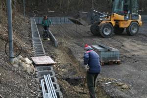Bau Stockbahn 53