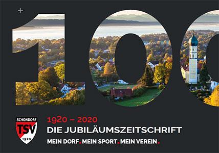Jubiläumszeitschrift 100 Jahre TSV Schondorf
