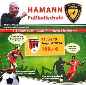 Hamann Fußball-Camp 11.08-15.08.2014